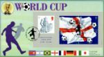 World Cup: Miniature Sheet Footballer and Flags Producer: CoverCraft