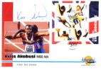 London 2012: Miniature Sheet Kriss Akabusi