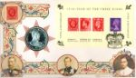 Year of the Three Kings: Miniature Sheet Coin Cover