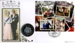 Diamond Wedding: Miniature Sheet The Queen & Prince Philip Producer: Benham Series: Coin Cover (217)