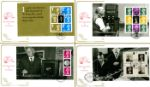 PSB: Machin 40 Years Envelope and Coins