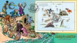 Charles Darwin: Miniature Sheet Comic Strip Evolution