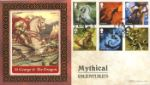 Mythical Creatures St George and the Dragon