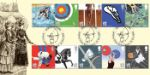 22.10.2009 Olympic Games: Series No.1 The Art of Archery Bradbury, BFDC No.65