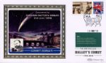 Halley's Comet [Commemorative Sheet] Comet Donati