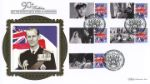 Prince Philip [Commemorative Sheet] With White Ensign