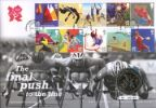 Olympic Games: Series No.3 The final push to the line Producer: Royal Mint Series: Royal Mint/Royal Mail joint issue (90)