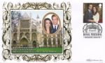 21.04.2011 Royal Wedding: Miniature Sheet Westminster Abbey Benham, BS No.1132