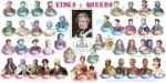 30.05.2013 Her Majesty the Queen Royal Portraits Kings & Queens Bradbury, BFDC No.233