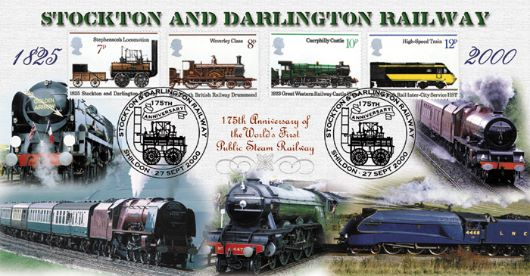 Stockton & Darlington Rly, 175th Anniversary