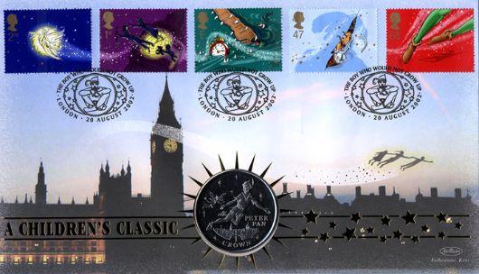 Peter Pan Clocks Peter Pan   First Day Cover /