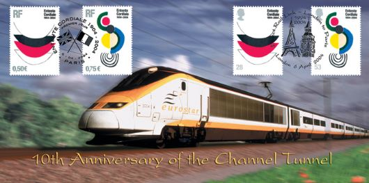 Entente Cordiale, Eurostar - 10th Anniversary