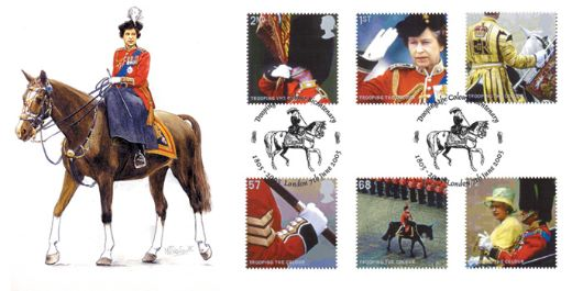 Trooping the Colour, H M The Queen
