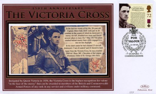 Victoria Cross, Captain Albert Ball