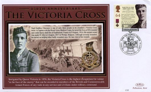 Victoria Cross, Army Doctor - 2 VCs