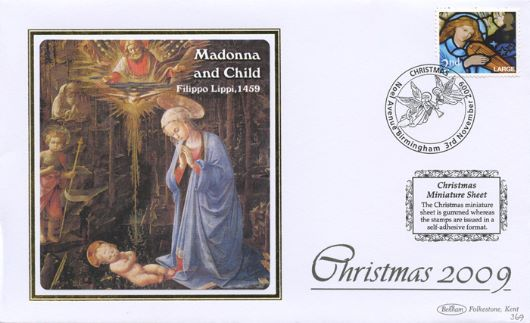 Christmas 2009: Miniature Sheet, Madonna and Child
