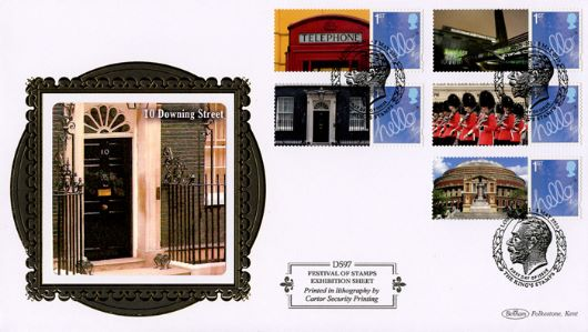 Festival of Stamps: Generic Sheet, 10 Downing Street