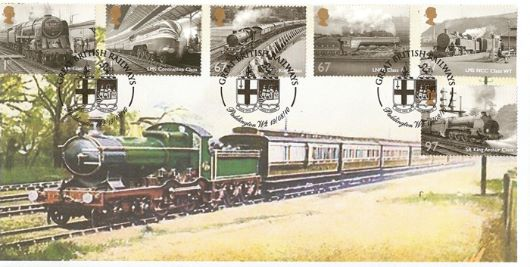 Great British Railways, Early steam train