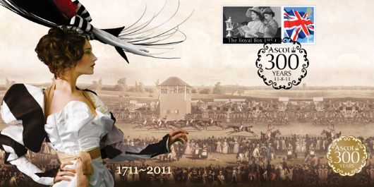 Royal Ascot, 300th Anniversary Cover 1