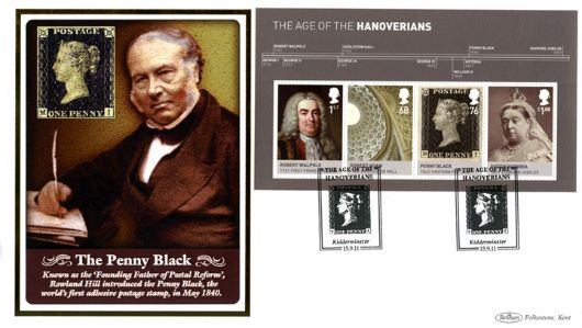The Hanoverians: Miniature Sheet, Rowland Hill