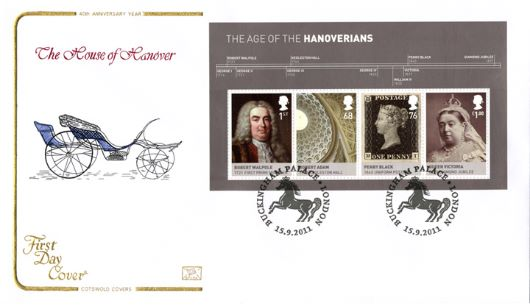 The Hanoverians: Miniature Sheet, Georgian Carriage