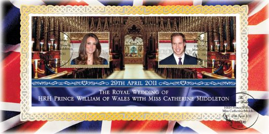 royal wedding stamps 2011. 37085 | Royal Wedding
