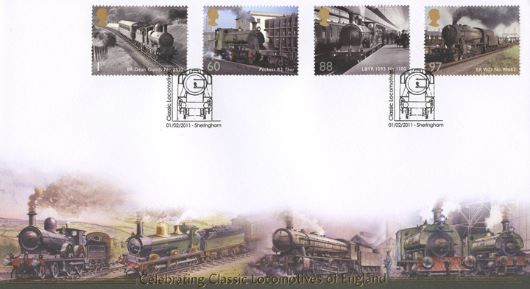Classic Locomotives: Series No.1: Miniature Sheet, Classic Engines