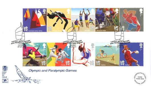 Olympic Games: Series No.3, Sailing