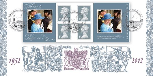 Self Adhesive: Diamond Jubilee, Royal Arms and Emblems