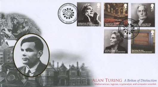 Britons of Distinction, Alan Turing