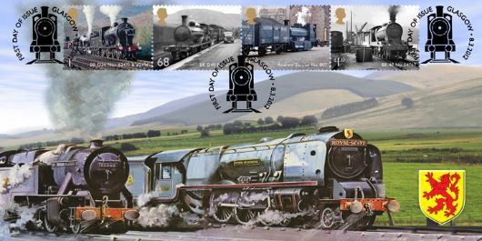 Classic Locomotives: Series No.2: Miniature Sheet, Royal Scot
