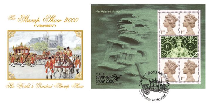 Queen's Stamps: Miniature Sheet, Coronation Souvenir Sheet