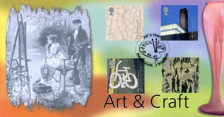 Art & Craft, Artist & Vase