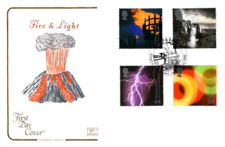 Fire & Light, Millennium Cover No. 2