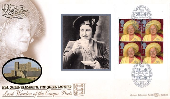 PSB: Queen Mother - Pane 4, Lord Warden of the Cinque Ports