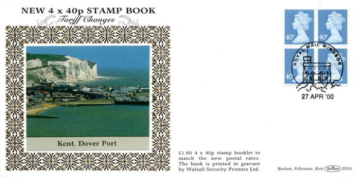 Window: Airmail: £1.60 , Port of Dover