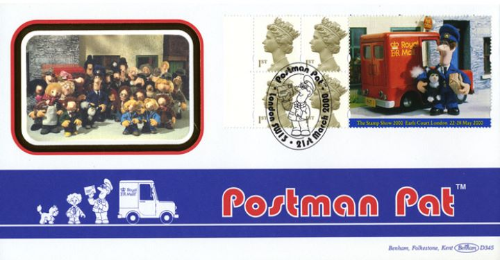 Window: Postman Pat, The Cast from Postman Pat