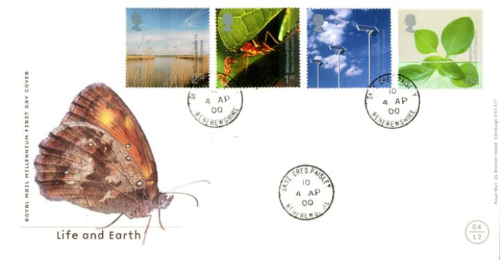 Life & Earth, CDS Postmarks