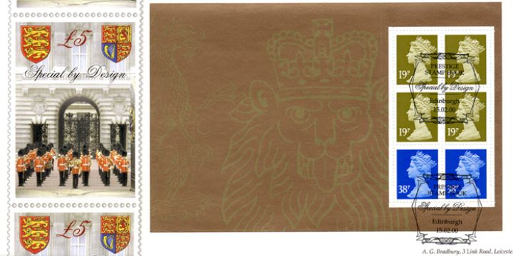 PSB: Special by Design - Pane 3, Design for £5 Stamp