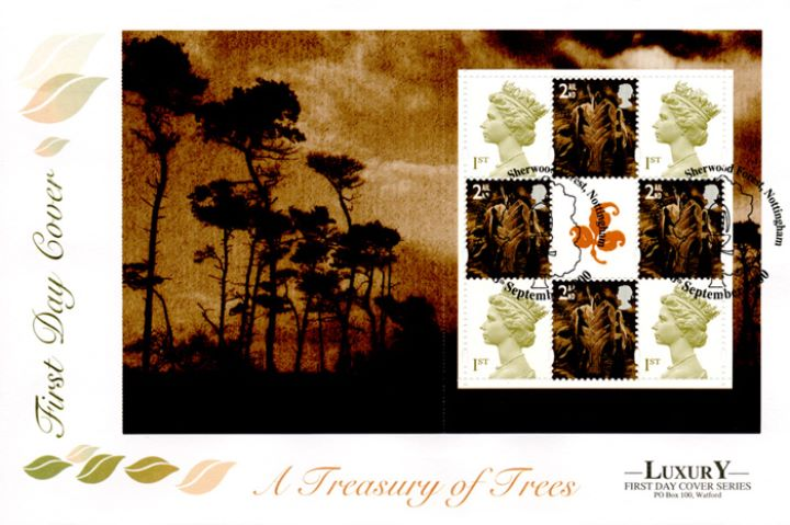 PSB: Trees - Pane 4, A Treasury of Trees