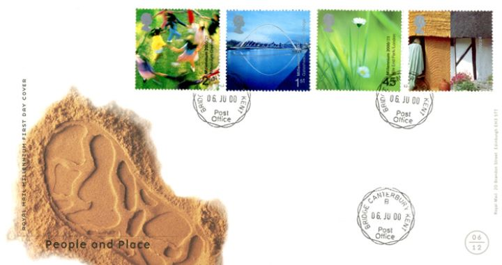 People & Place, CDS Postmarks