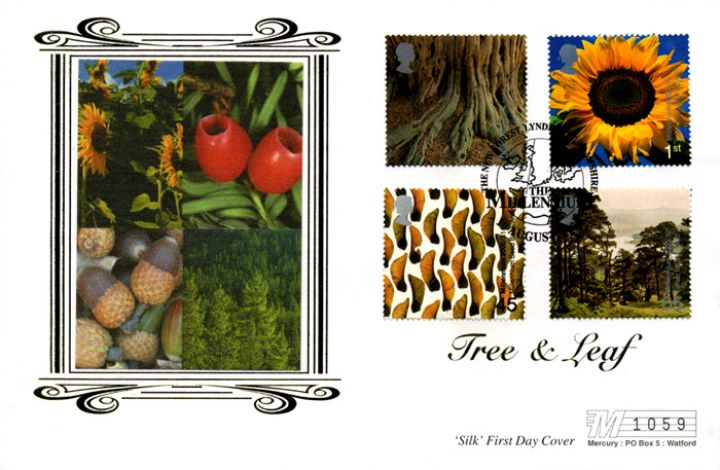 Tree & Leaf, Flowers, fruits and nuts