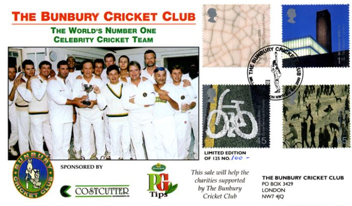 Art craft bunbury cricket club first day cover bfdc for The cricket arts and crafts