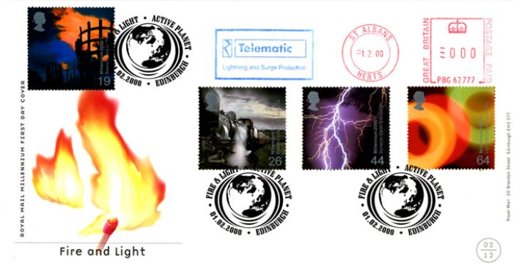 Fire & Light, Millennium Cover No.2