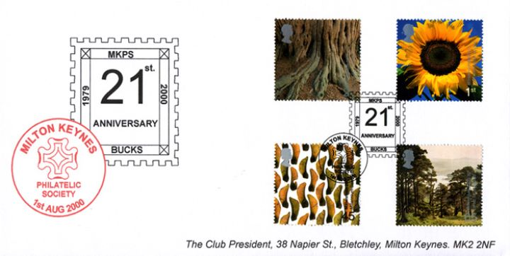Tree & Leaf, Milton Keynes Philatelic Society