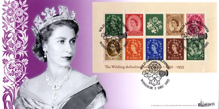 Wildings No.1: Miniature Sheet, HM The Queen