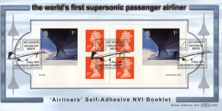 Self Adhesive: Airliners, Concorde