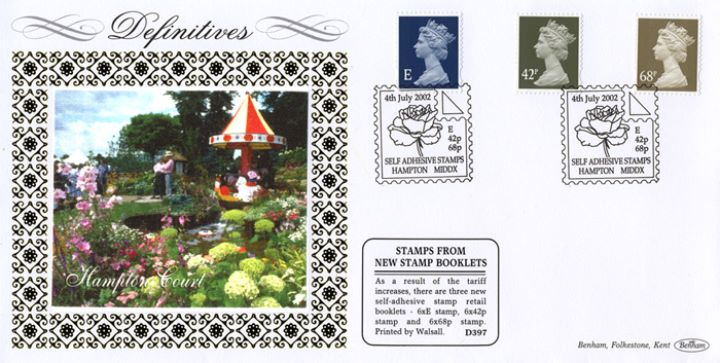Machins (EP): E, 42p, 68p (Self Ad), Hampton Court Flower Festival