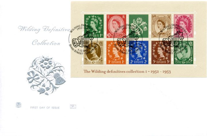 Wildings No.1: Miniature Sheet, Country Emblems