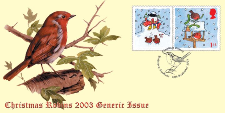 Robins: Generic Sheet, Robin Red Breast